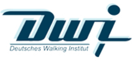 Logo des Deutsches Walking Institut e.V. als Partner der Physiotherapie Praxis mensana•med in Köln