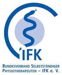 Logo des Bundesverband selbstständiger Physiotherapeuten — IFK e. V. als Partner der Physiotherapie Praxis mensana•med in Köln