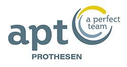 Logo der APT Service GmbH als Partner der Physiotherapie Praxis mensana•med in Köln