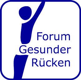 Logo des Forum Gesunder Rücken - besser leben e.V. als Partner der Physiotherapie Praxis mensana•med in Köln