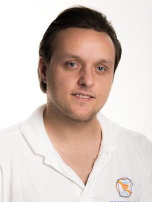 Porträt Stefan Herrmann von der Physiotherapie Praxis mensana•med in Köln