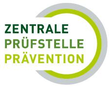 Logo Zentrale Pruefstelle fuer Praevention
