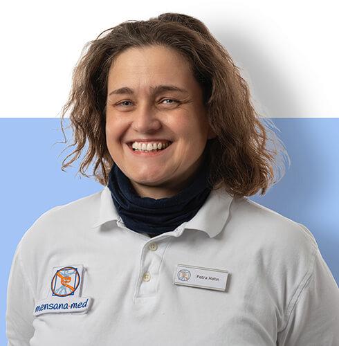 Porträt Petra Hahn von der Physiotherapie Praxis mensana•med in Köln